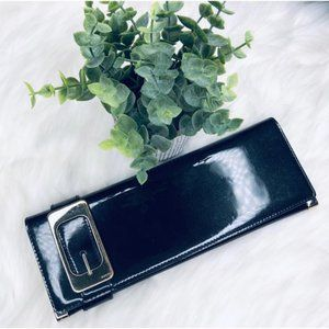 Gucci Romy Patent Leather Long Clutch